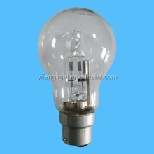 CE Certification and Glass Material A60 halogen bulb