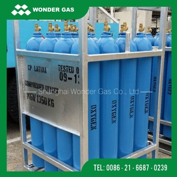 Low Price Gas Cylinder Bundle With DNV Certification