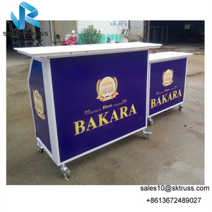 Customized Mobile Portable folding bar, Fashion Folding Portable Bar Moveable Bar