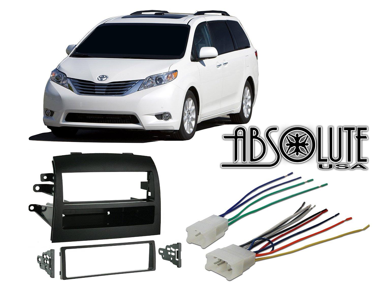 Buy Radio Stereo Install Single Din Dash Kit   Steering