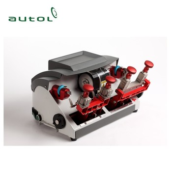 P2 Horizontal double head machine key cutting machine duplicate key making machine for car key