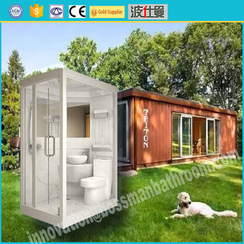 2017 Acrylic modular manufacturer price portable cabin kits all in one  shower rooms prefabricated bathroom pods. 2017 Acrylic Modular Manufacturer Price Portable Cabin Kits All In