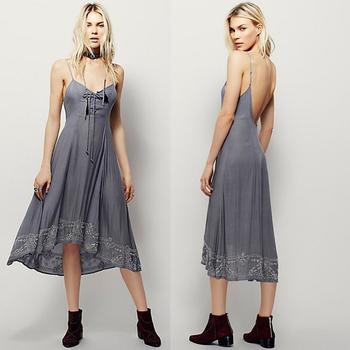 fa87661e44 Flower Lace Up Fashion Bohemian Style Clothing - Buy Bohemian ...