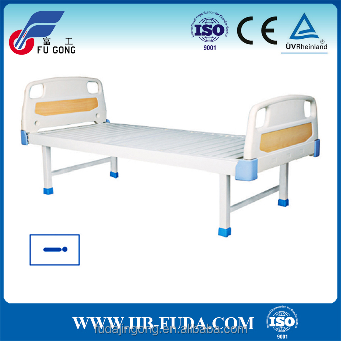 Simple design hospital furniture very cheap hospital bed with detachable ABS headboard