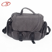 Outdoor Travelling Digital Accessories Canvas Cheap Camera Bag