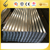 galvanized corrugated steel sheet roofing metal for construction
