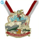 BIG DISCOUNT BIG SIZE custom colorful soft enamel made metal 3D carnival medal