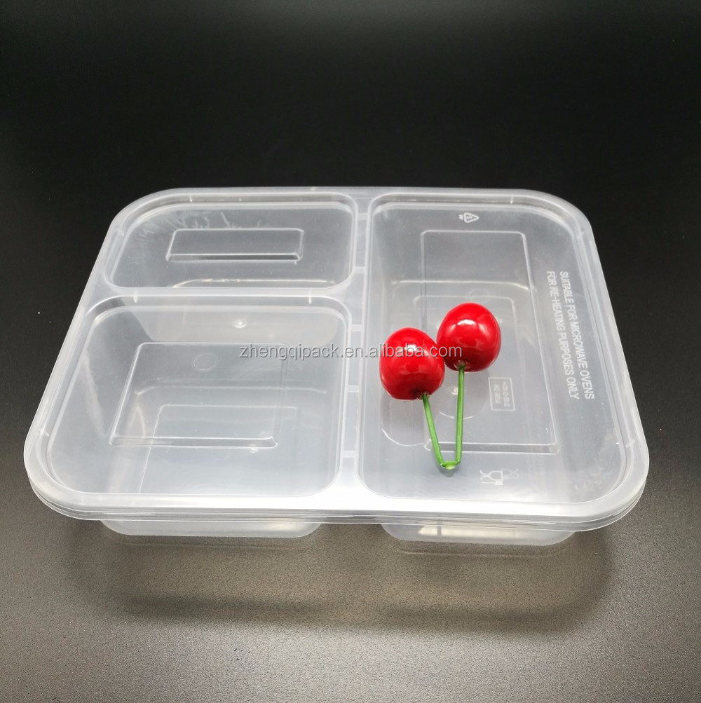 Disposable 3 Compartment Food Container Supplieranufacturers At Alibaba