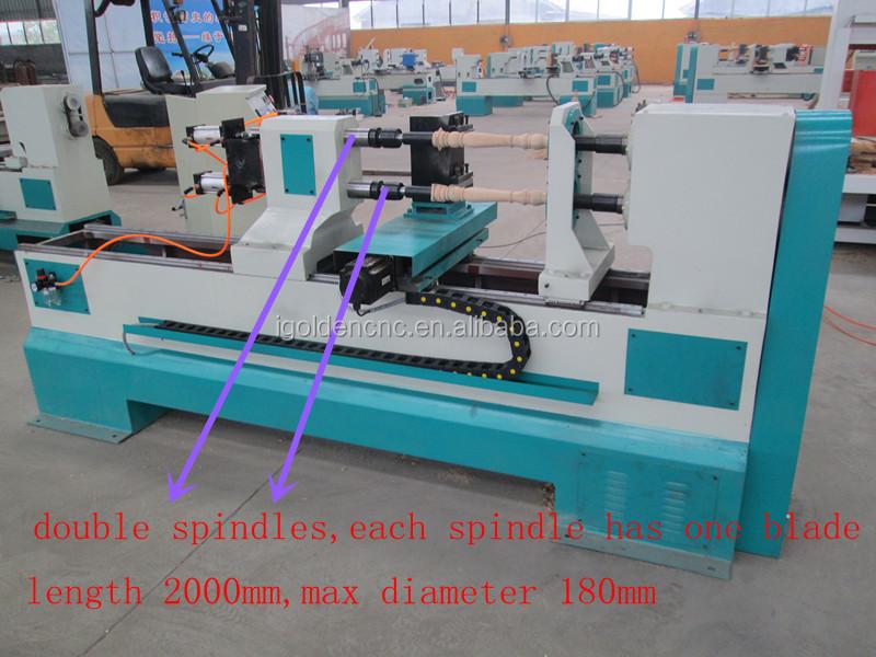 China Best Supplier Wood Turning Lathes Automatic Wood Turning ...