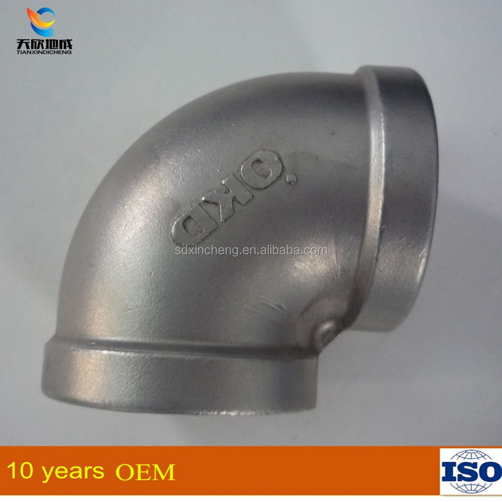 ISO/JIS/AS/ASTM/ANSI PVC stainless steel Pipe Fitting Elbow