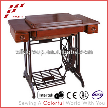 3 Drawer Table And Stand Of Household Used Sewing Machine Tables