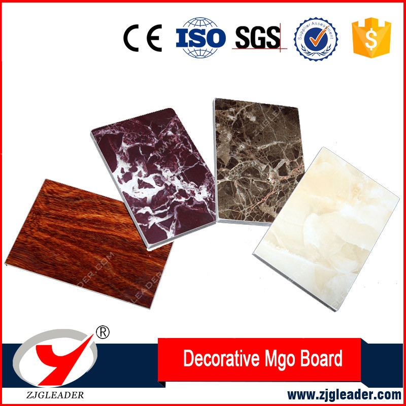 Interior wall decoration pattern fireproof mgo board