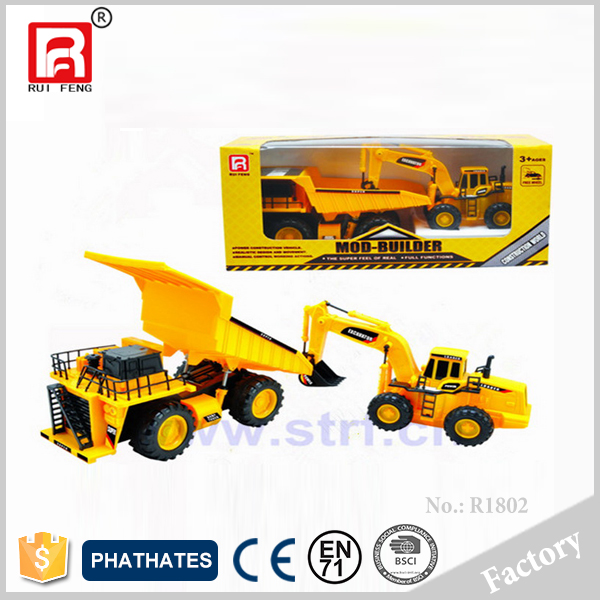 RC Construction Toy Trucks Model