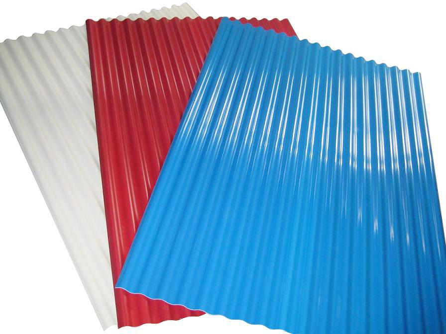 Upvc Plastic Sheet Corrugated Type For Wall Panel And Roof