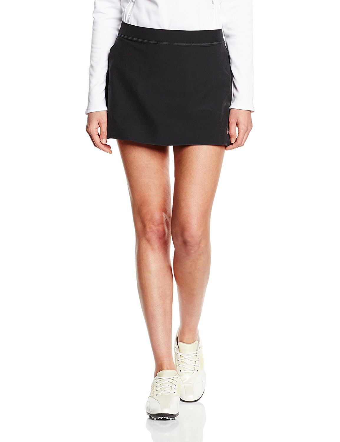 sneakers for cheap 11598 60857 Get Quotations · Nike Womens Golf Innovation Links Woven Skort Black Small