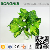 high quality plastic hanging silk ivy leaves for home wall decorations