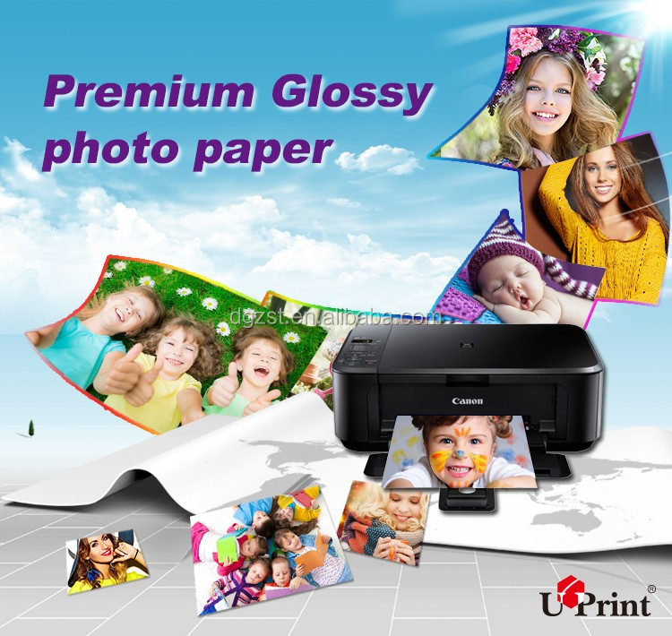 factory supply 250g cast coated double side matte inkjet photo paper c2s glossy art paper