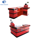 Hot Selling Shopping Mall Cashier Table Supermarket Checkout Counter Equipment