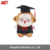 Wholesale High Quality Graduation Plush Stuffed Monkey Toys Souvenir