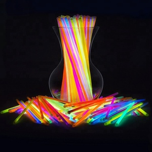 Custom Print 8 Inch Chemical Light Led Party Pack Bracelets Necklace Biodegradable Glow Stick