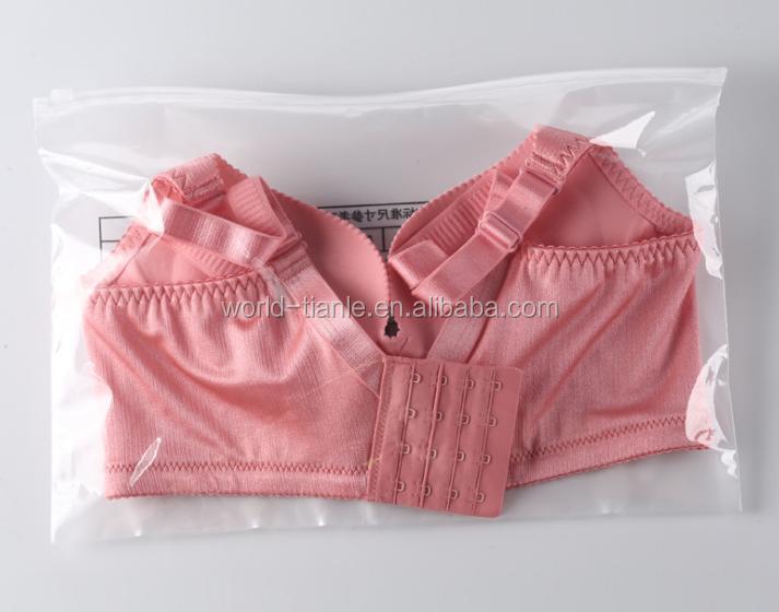 77cd0d1d52 Soft Transparent Pvc Plastic Underwear  Bra Packaging Bags With Zipper  Closure - Buy Bra Underwear Packaging Bag