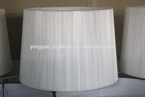 Wholesale Cheap Price Threaded Wrap Empire/Drum Lampshade Size Customized