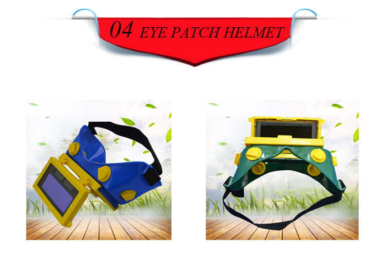 Low Price Solar Power 24 Hours Service Auto Darkening Welding Mask