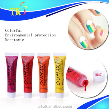 Nail Painting Pigment Acrylic Paint12 Color Nail Art Special