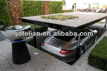 Residential Pit Garage Parking Car Lift