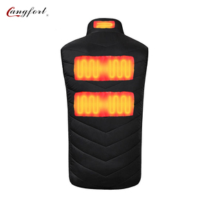Good Warm Keeping Heated Leather Motorcycle Vest