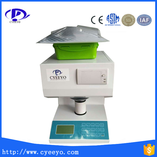 Paper fluorescent whiteness tester with printer