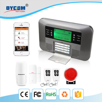 Gsm Pstn Auto Dail Home Office Apartment Wireless Security Alarm System