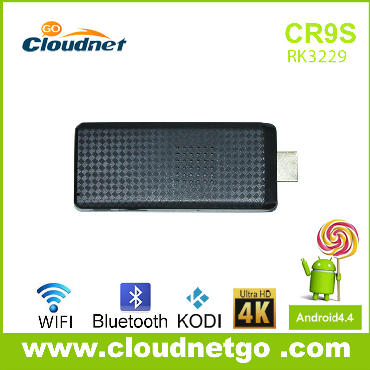 OEM Best CR9s RK3229 Quad Core Portable Wifi Bluetooth Android Mini TV Box