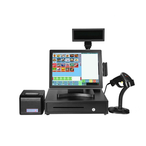 15 inch cash register/pos system/ touch POS all in one PC/pos terminal for supermarket, restaurant, store.