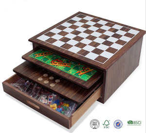 10 in 1 Chess Game Board Box Set Chess Game