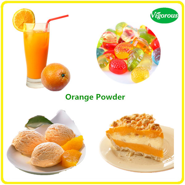 Food Beverage Ornage Flavor Powder/Natural Orange Powder/Orange Juice Powder