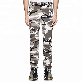 wholesale Camouflage Cotton Cargo Pants Mens trousers fabrics