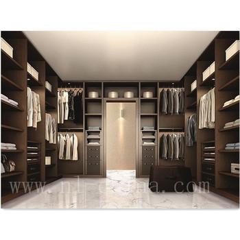 No Door Walk In Closet Bedroom Furniture /Clothes Closet