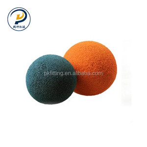 Concrete Pump Cleaning The Pipeline Small Soft Rubber Sponge Ball For Sale