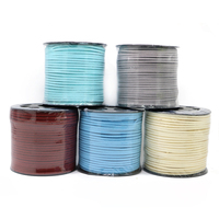 ZYL0001 2.6mm Faux Flat Suede Leather Cord Manufacturer For Jewelry Making