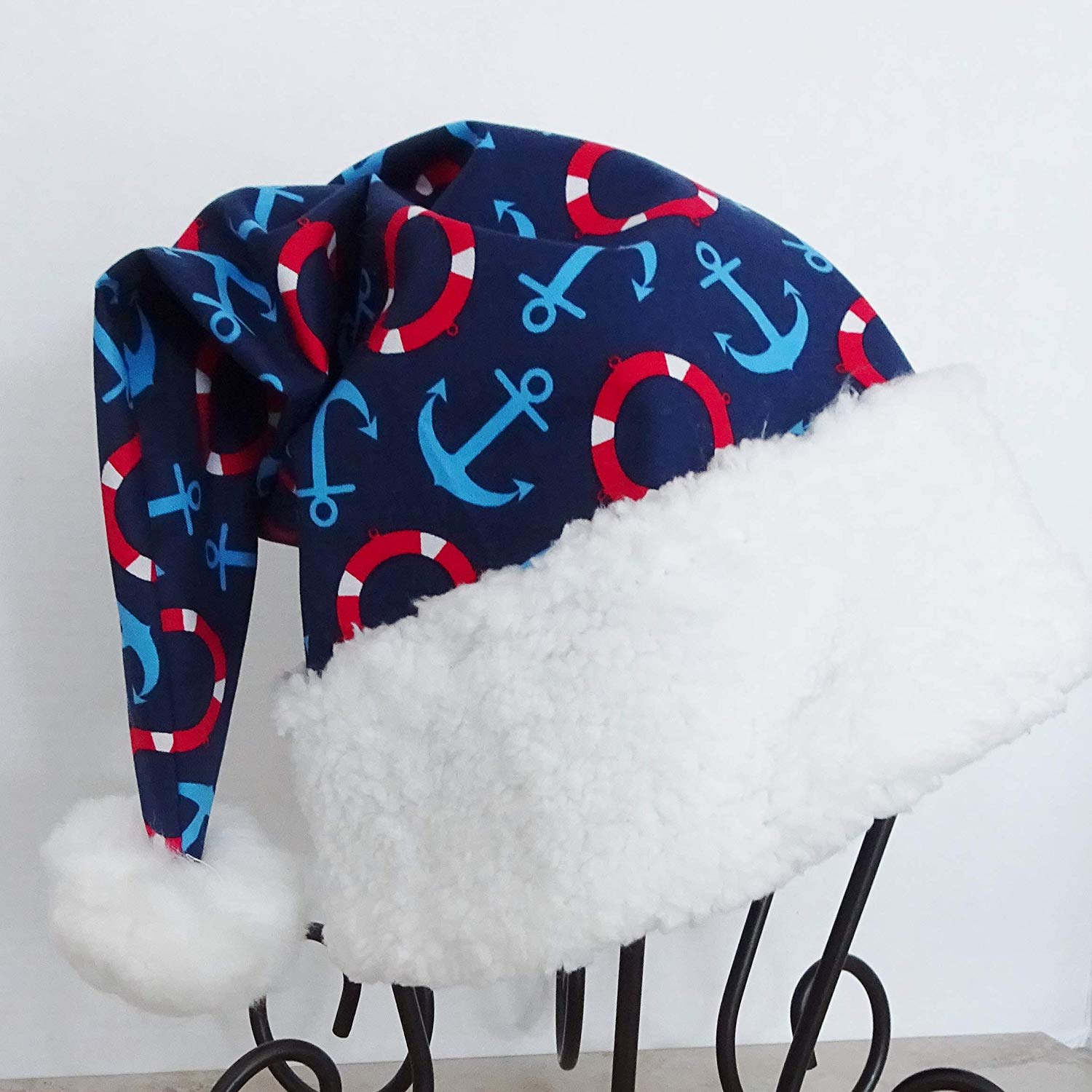 38fb5db4863 Get Quotations · Nautical Santa Hat