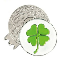 Individuelles Logo Weiche Emaille Metall Magnet <span class=keywords><strong>Golf</strong></span> Hut Clips mit Ball Marker