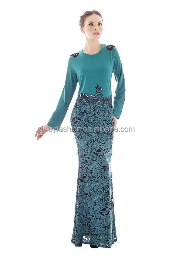 Fashion Design Malaysia Baju Kurung Modern Design Beading