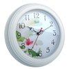 white slient wall hanging wooden frame clock
