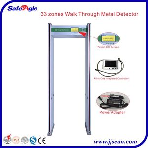 33 zones Walk Through Metal Detector Walkthrough Door Frame Metal Detector