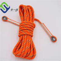 10mm Polyester climbing rope for rescue safety rope