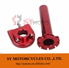 CNC Aluminum Twist Throttle Handle Control For Scooter Moped Motocross Pit Pro Dirt Motor Monkey Bike Street Motorcycle