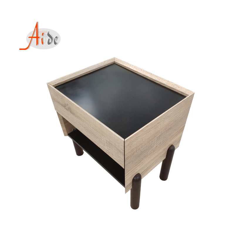 Wooden End Table Side Desk Night Stand Living Room Storage Cabinet