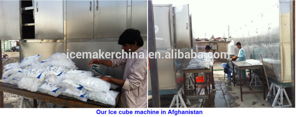 5000kg Output Ice Cube Maker Machine Industrial Industrial