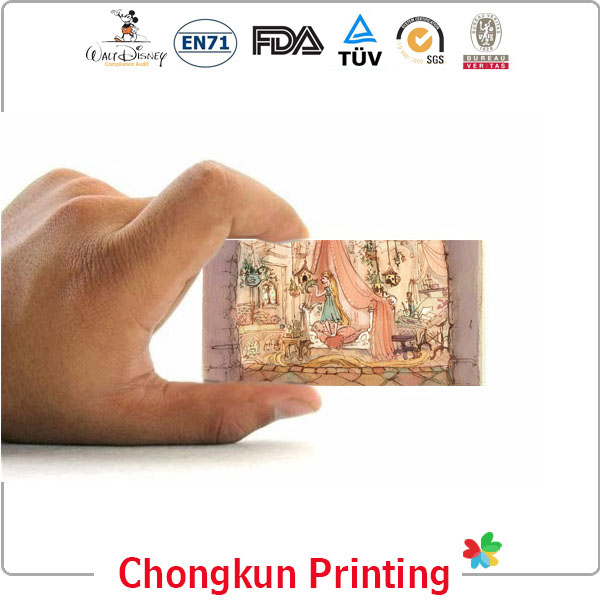 wedding 3d pop up greeting card for lenticular printing gifts